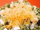 Рецепта Зелени фетучини със спанак, течна сметана, сирене бри и чедър